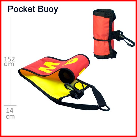POCKET BUOY [orange-yellow]