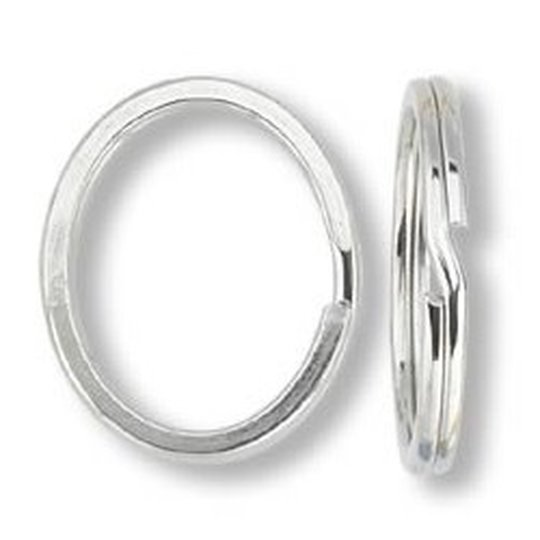 SPLITRING stainless (5 pcs)   Ø inside 38 mm -  Wire Dia 2,0 mm